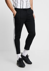 Only & Sons - ONSOWEN CROPPED - Tracksuit bottoms - black - 0