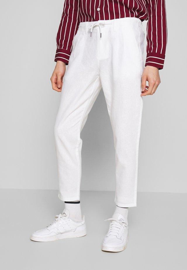 ONSLEO - Tygbyxor - bright white
