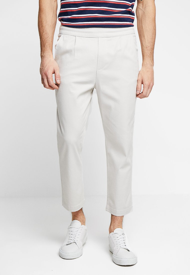 Only & Sons - ONSLINUS WIDE LEG CROPPED - Stoffhose - wind chime