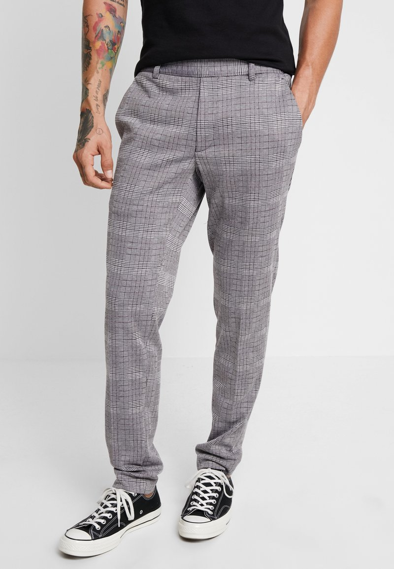 Only & Sons - ONSCARL CHECK - Trousers - zinfandel