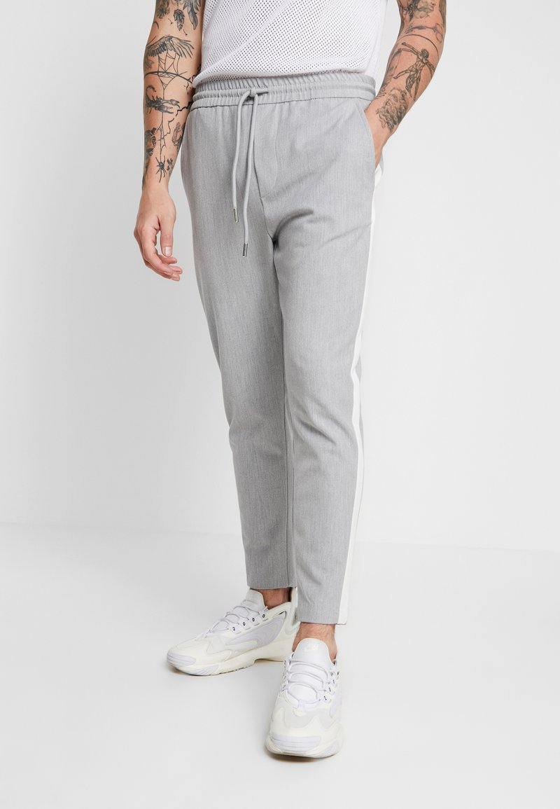 Only & Sons - ONSLINUS PANT - Trousers - light grey melange