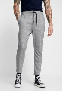Only & Sons - ONSLINUS CHECK PANT - Kalhoty - griffin - 0