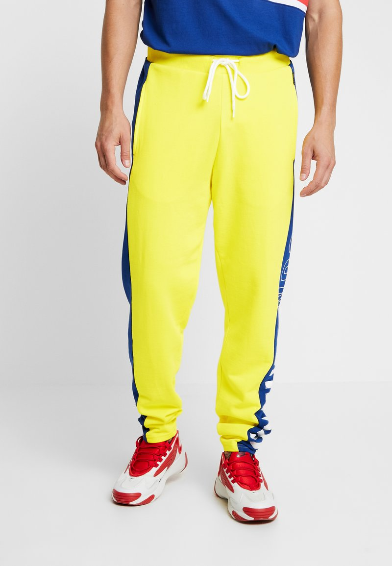 Only & Sons - ONSCOLOR PANTS - Tracksuit bottoms - blazing yellow