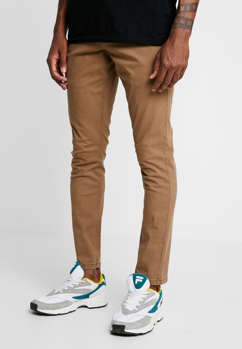 Only & Sons - ONSTARP WASHED - Chino kalhoty - kangaroo