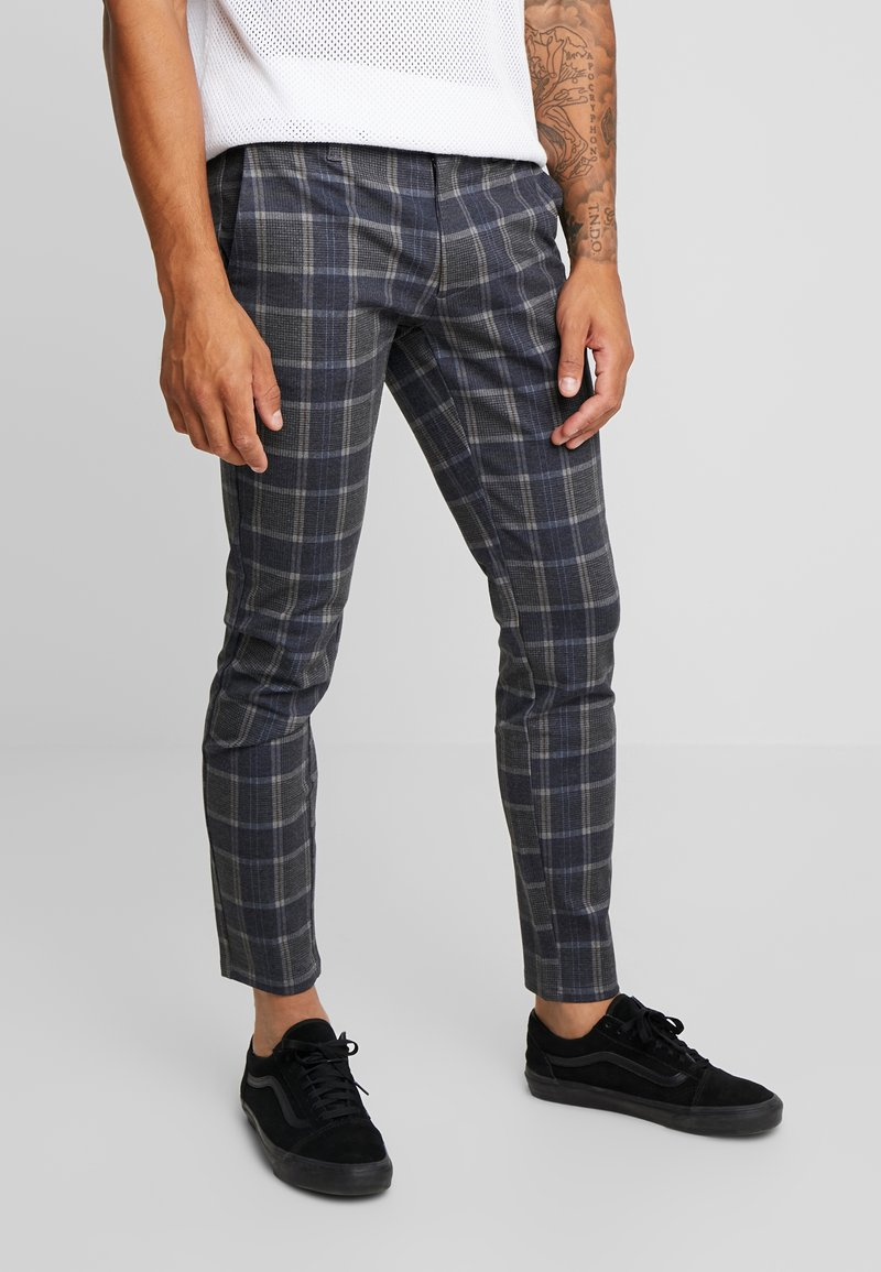 Only & Sons - ONSMARK PANT CHECK - Stoffhose - cinnabar