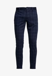 Only & Sons - ONSMARK PANT CHECK - Bukse - dark navy - 3