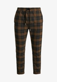 Only & Sons - ONSLINUS CHECK  - Trousers - brown - 3