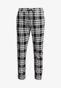 Only & Sons - ONSLINUS CROPPED CHECK PANT - Kangashousut - black - 3