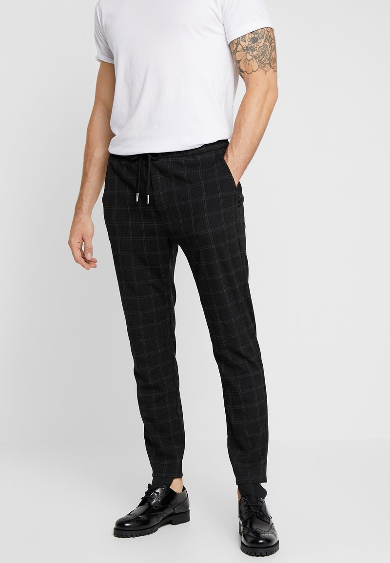 Only & Sons - ONSLINUS PANT  - Tygbyxor - black