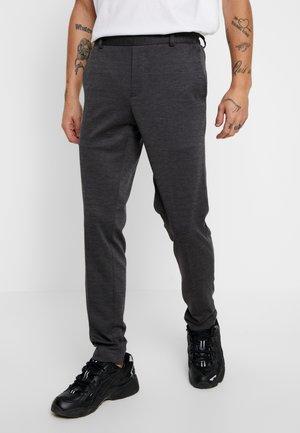 ONSELIAS CASUAL PANTS - Pantaloni - dark grey melange