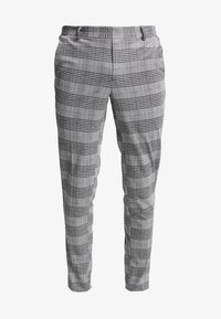 Only & Sons - ONSELIAS CHECK  PANTS - Trousers - black - 4