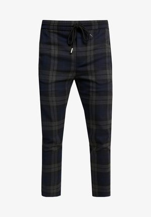ONSLINUS CHECK PANT - Broek - dark navy