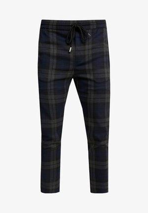 ONSLINUS CHECK PANT - Pantaloni - dark navy