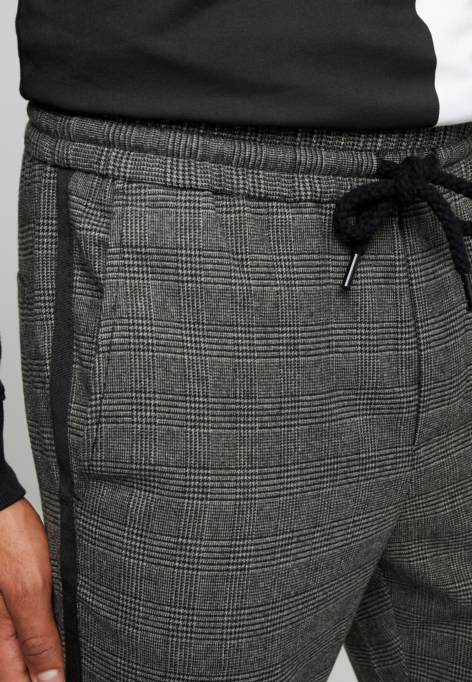 Only & Sons Onslinus Pant Checks - Bukser Medium Grey Melange