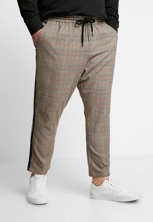 ONSLINUS PANT CHECKS  - Trousers - chinchilla