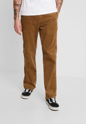 ONSYARN LOOSE FIT - Pantalon classique - kangaroo