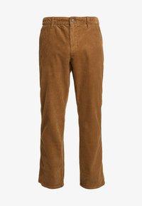 Only & Sons - ONSYARN LOOSE FIT - Pantalones - kangaroo - 4