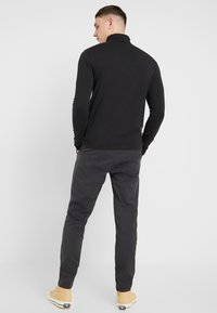Only & Sons - ONSDION PANT - Tygbyxor - dark grey melange - 2