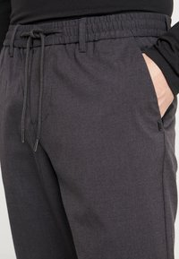 Only & Sons - ONSDION PANT - Tygbyxor - dark grey melange - 3