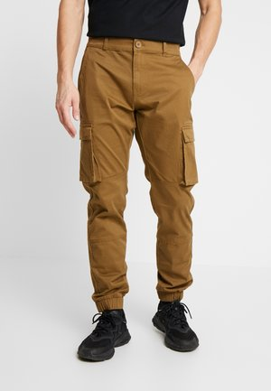 ONSCAM STAGE CARGO CUFF - Cargo trousers - kangaroo