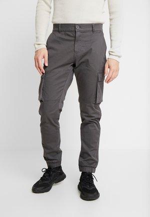ONSCAM STAGE CARGO CUFF - Pantaloni cargo - grey pinstripe