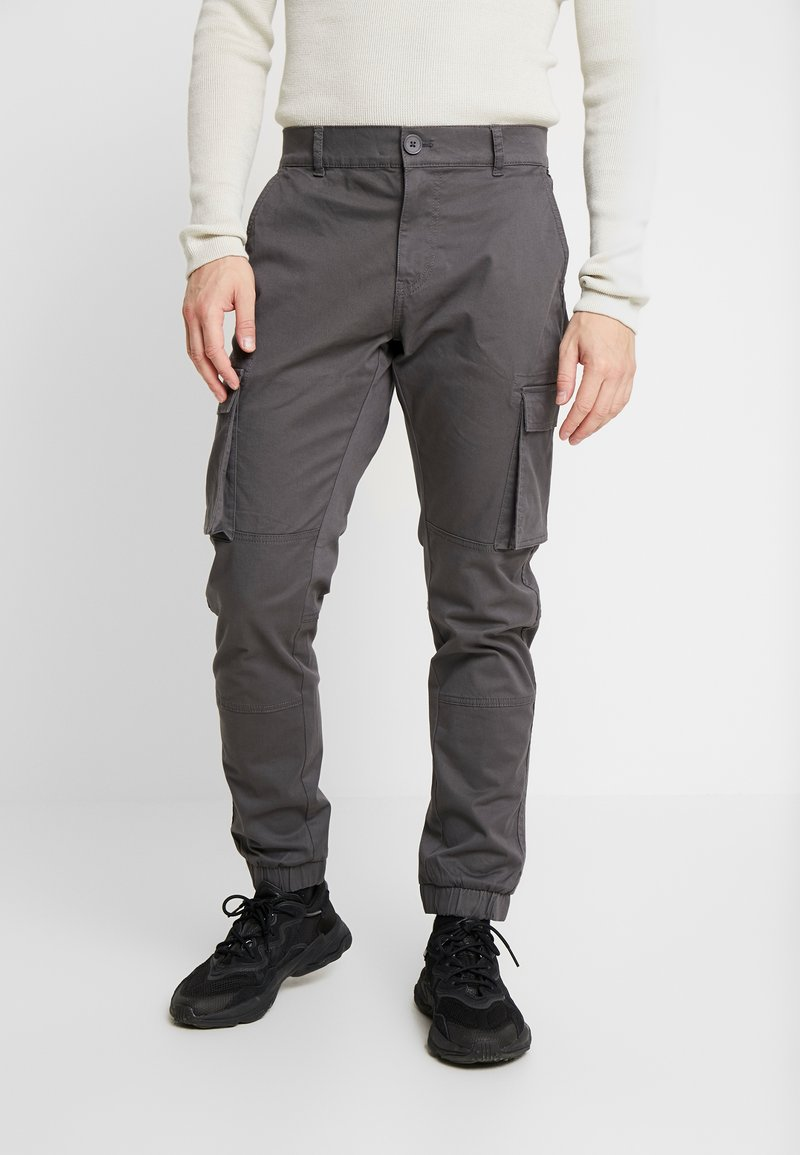 Only & Sons - ONSCAM STAGE CARGO CUFF - Cargobroek - grey pinstripe