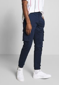 Only & Sons - ONSCAM STAGE CARGO CUFF - Pantalones cargo - dark blue - 0