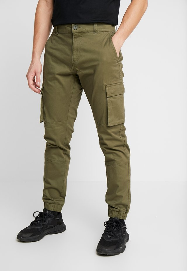 ONSCAM STAGE CARGO CUFF - Pantaloni cargo - olive night