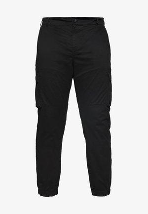 ONSCAM CARGO CUFF - Pantalon cargo - black
