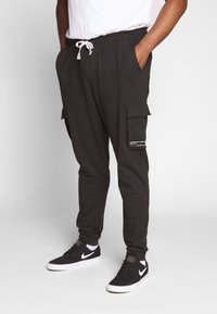 Only & Sons - KENDRICK CHINO PRINT  - Verryttelyhousut - black - 0