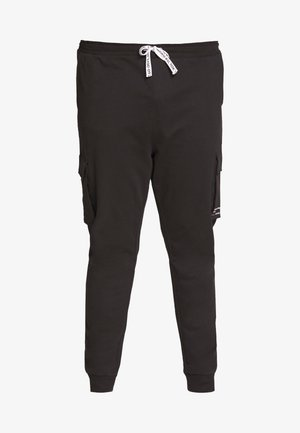KENDRICK CHINO PRINT  - Pantalon de survêtement - black