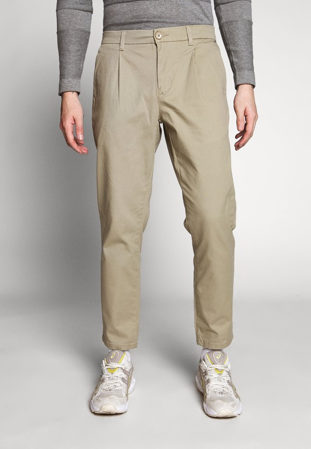 ONSCAM CROPPED - Chinos - chinchilla