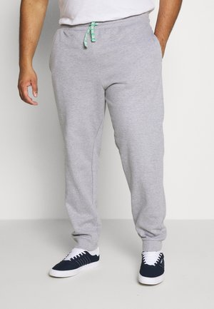 ONSORGANIC PANTS PLUS - Tracksuit bottoms - medium grey melange