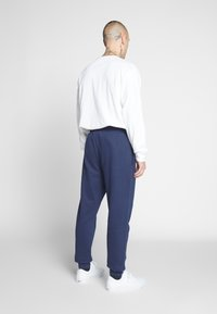 Only & Sons - ONSORGANIC SWEAT PANTS - Tracksuit bottoms - dress blues - 2