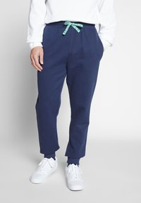 Only & Sons - ONSORGANIC SWEAT PANTS - Tracksuit bottoms - dress blues - 0