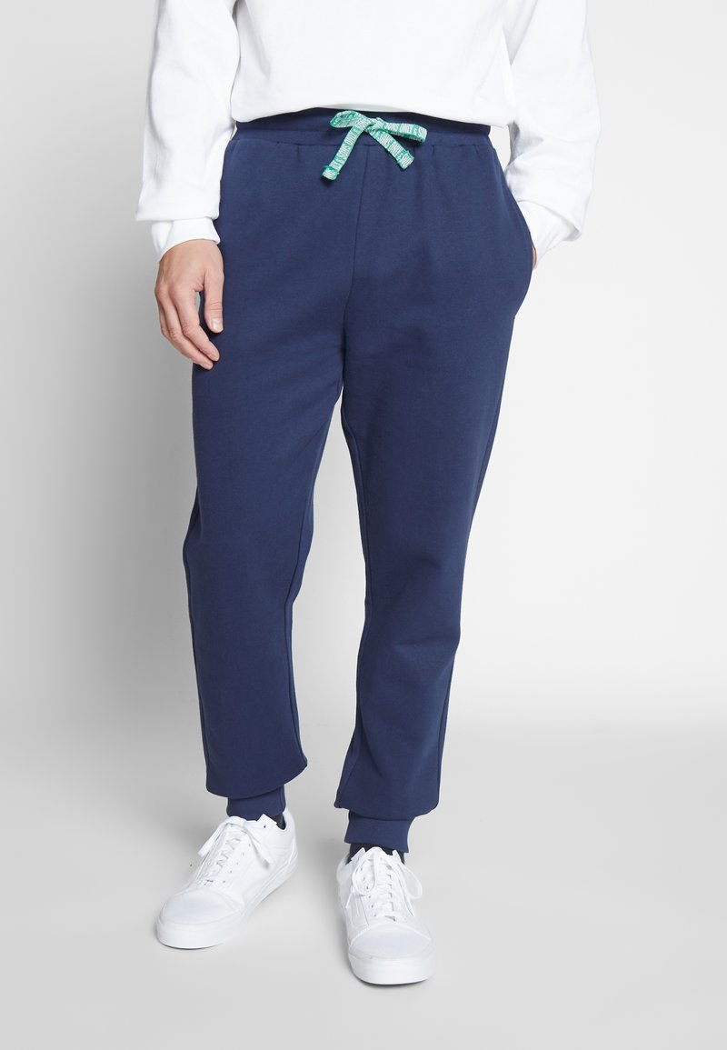 Only & Sons - ONSORGANIC SWEAT PANTS - Tracksuit bottoms - dress blues