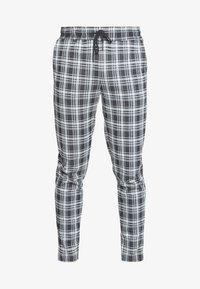 Only & Sons - ONSDESMOND CHECK PANTS - Kalhoty - black/white - 4