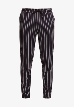 ONSDESMOND - Trainingsbroek - dark navy/white pinstripe
