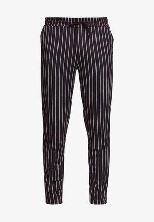 ONSDESMOND - Teplákové kalhoty - dark navy/white pinstripe