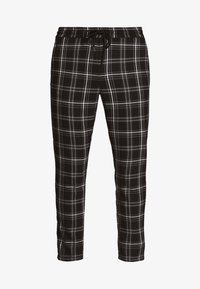 Only & Sons - ONSLINUS CHECK PANT - Broek - black - 4