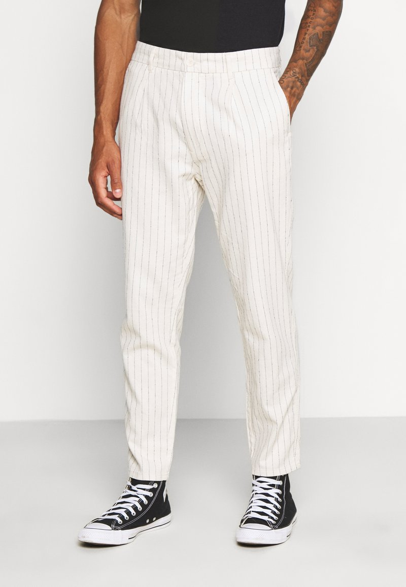 Only & Sons - ONSLOU PANT  - Trousers - cloud dancer