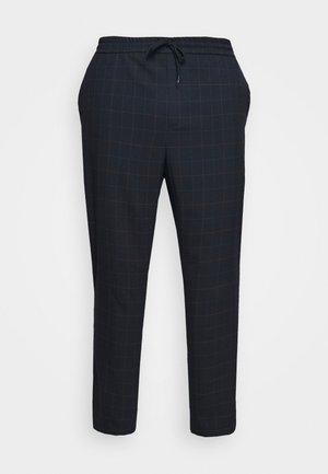 ONSLINUS LONG CHECK - Pantalones - dark navy
