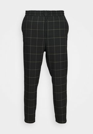 ONSLINUS LONG CHECK - Pantalones - black