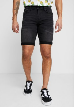 ONSPLY - Jeansshort - black denim