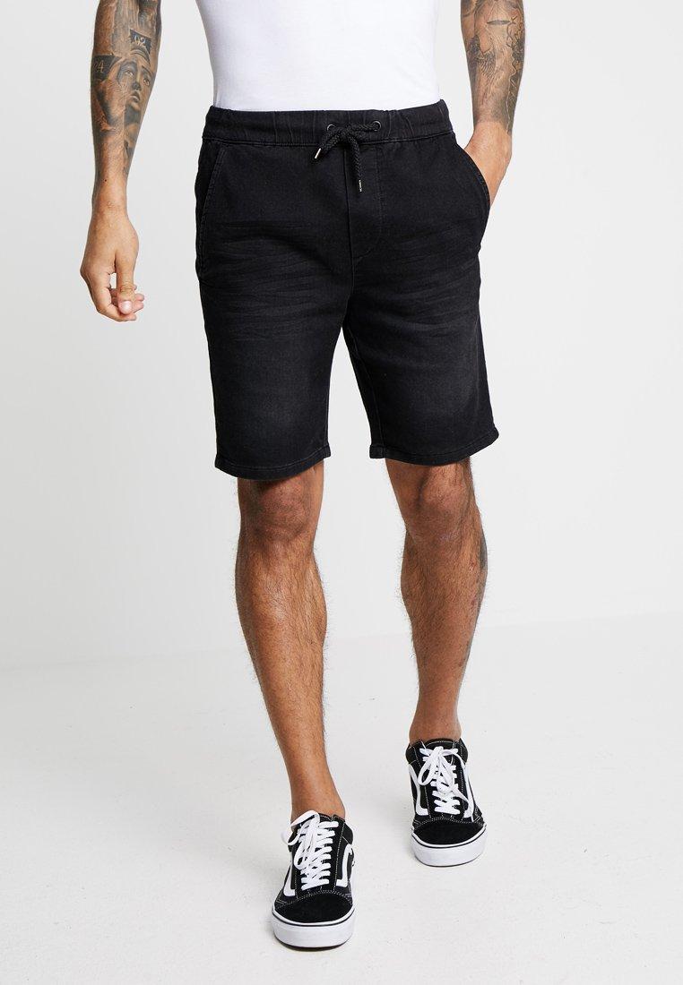 Only & Sons - ONSROD - Shorts - black denim