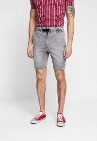 Only & Sons - ONSROD - Shorts - grey denim - 0