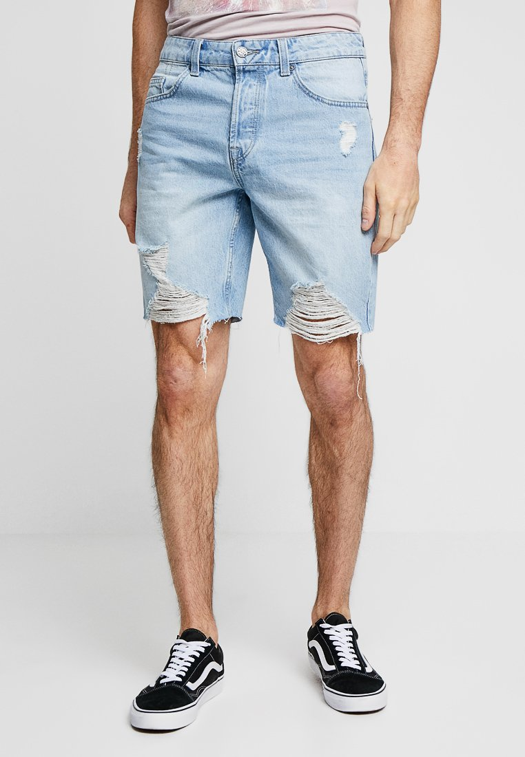 Only & Sons - ONSAVI - Jeans Shorts - blue denim