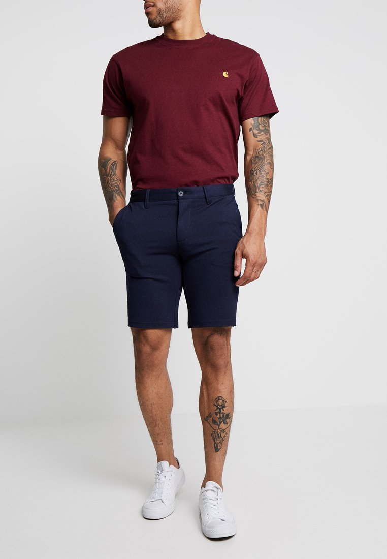 Only & Sons - ONSVP MARK TAPE - Shorts - dark navy
