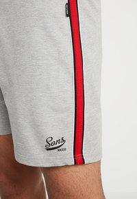 Only & Sons - ONSBF STRIPE  - Spodnie treningowe - light grey melange - 4