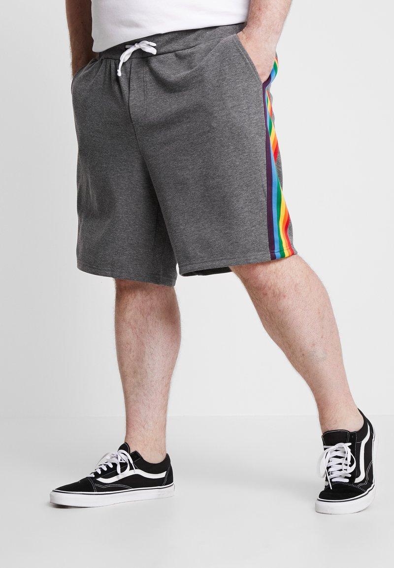Only & Sons - ONSVP STRIPED  - Shorts - dark grey melange